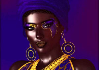 African American Fashion Beauty, diversity, artistic